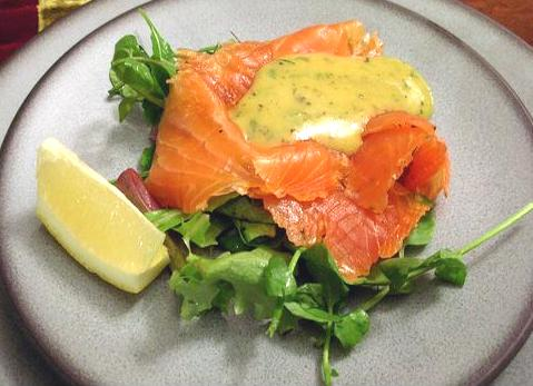... with mustard sauce gravlax with sweet mustard with sweet mustard sauce