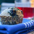 Blueberry Quinoa Pecan Muffins