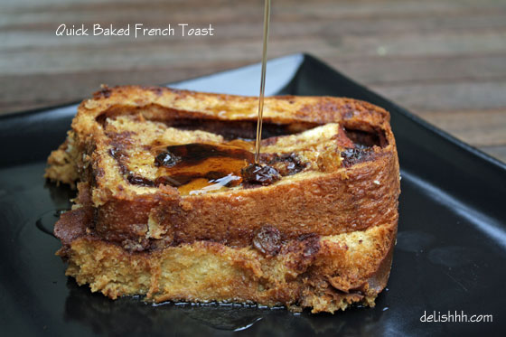 Quick Baked French Toast