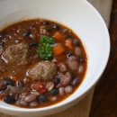 Italian Black Bean Soup