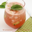 Cucumber and Watermelon Mojito